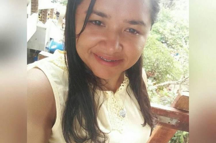 Daniela Tabajara teve confirmação de Covid-19 às 5 horas desse domingo. Foto: Arquivo Pessoal/ Facebook