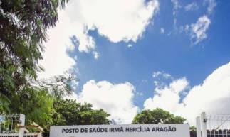 Posto de Saude Irmã Hercília Aragão no bairro São João do Tauape.  (Foto: Aurelio Alves/O POVO)