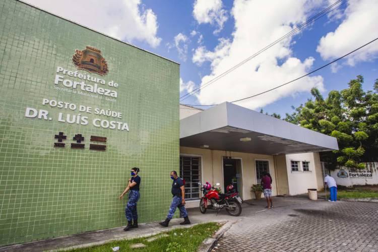 Posto Dr. Luis Costa no bairro Benfica estará aberto (Foto: Aurelio Alves/O POVO)