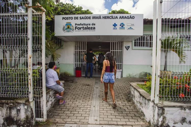 Posto de Saúde Irmã Hercília Aragão estará aberto neste fim de semana (Foto: Aurelio Alves/O POVO)