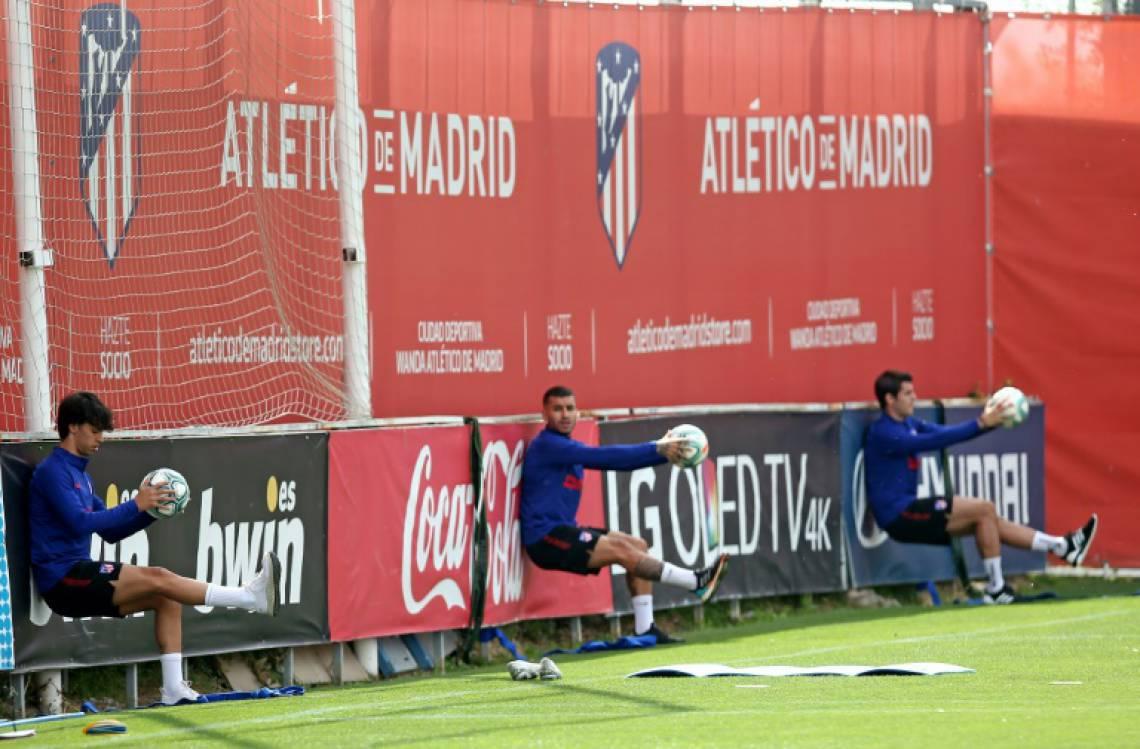 Atletico de Madrid ensaia retomada junto com outros clubes espanhóis