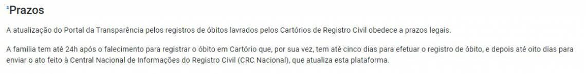 No site usado pelo deputado André Fernandes há o aviso sobre o prazo para inclusão dos dados