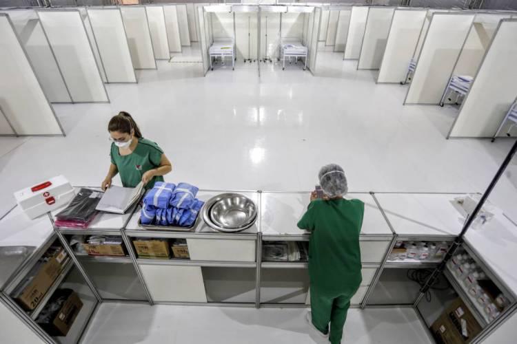 O epicentro da epidemia de coronavírus no Ceará é Fortaleza  (Foto: TATIANA FORTES/ GOVERNO DO CEARÁ)