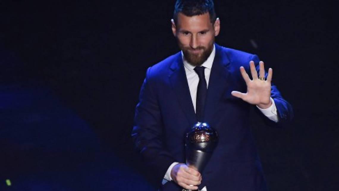 Messi é o atual detentor do prêmio The Best do futebol masculino
