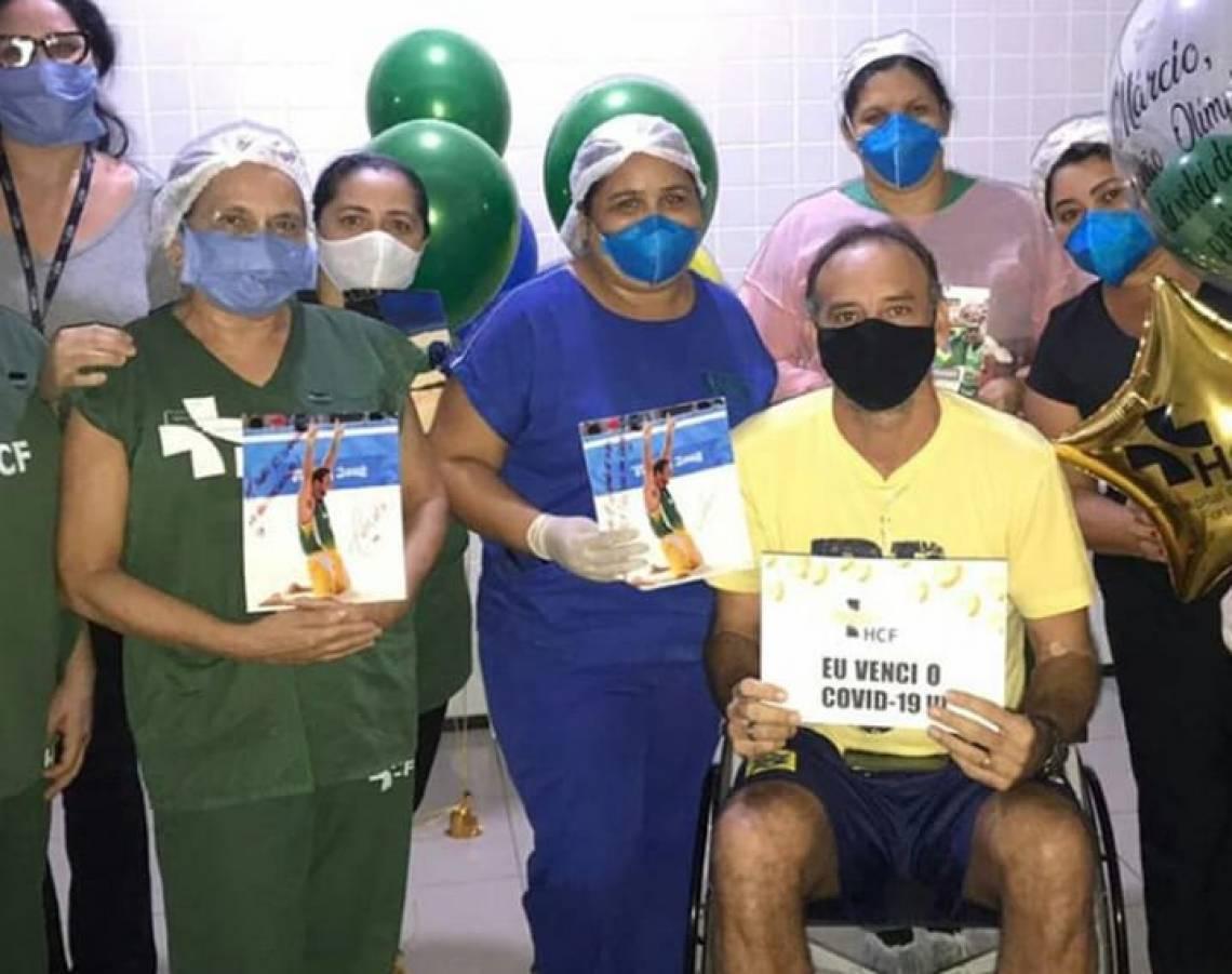 Márcio Araújo ficou internado no Hospital Central de Fortaleza
