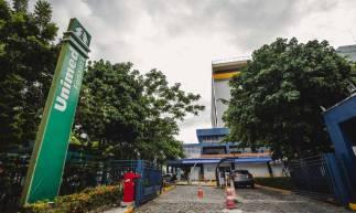 FORTALEZA, CE, BRASIL, 14-05-2020: Fachada do HRU (Hospital Regional da Unimed), em epoca de COVID-19. (Foto: Aurelio Alves/O POVO)
