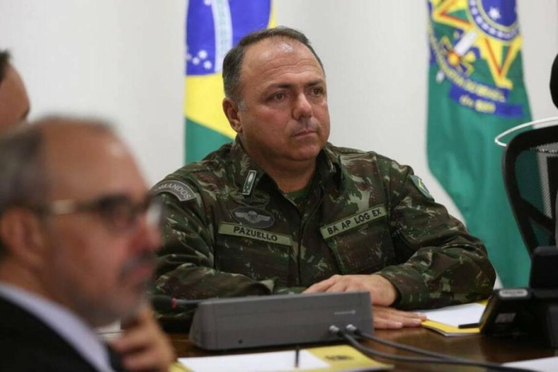 GENERAL Eduardo Pazuello é o interino do Ministério da Saúde (Foto: Valter Campanato/Agência Brasil)