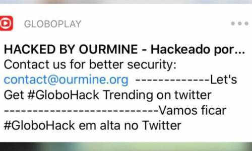 Grupo aproveitou a invasão para divulgar seus serviços de segurança digital e solicitar aos usuários que subissem uma hashtag