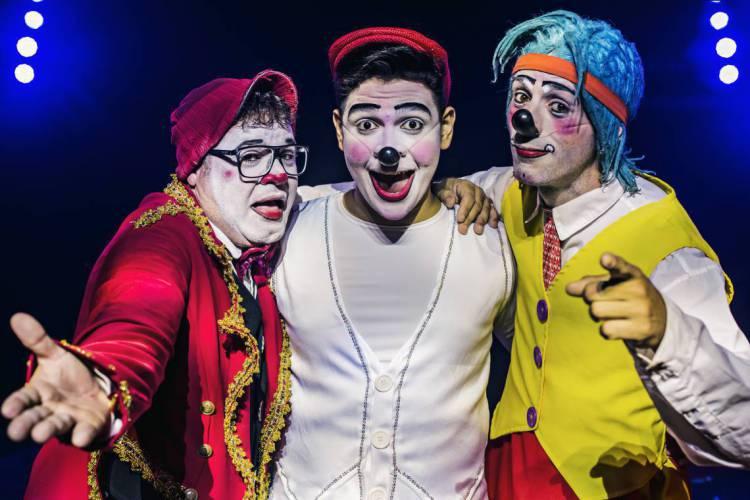 Fundo Nacional da Cultura beneficiaria trabalhadores da Cultura e equipamentos culturais. Na foto: palhaços do Circo do Marcos Frota (Foto: Divulgação)