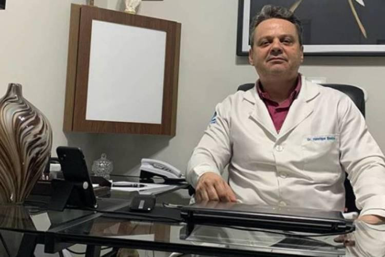 Henrique Bastos é o coordenador do protocolo de segurança da FCF (Foto: Reprodução/Instagram )
