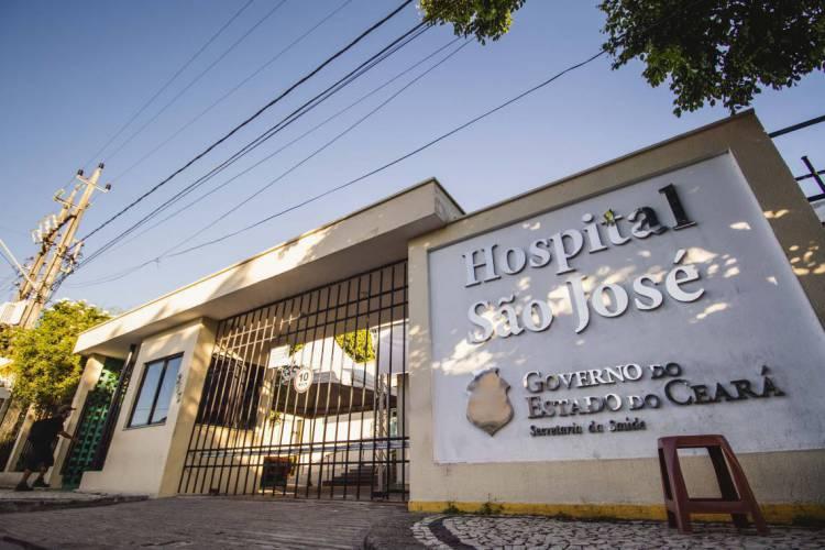 O hospital São José receberá os testes (Foto: Aurelio Alves/O POVO)