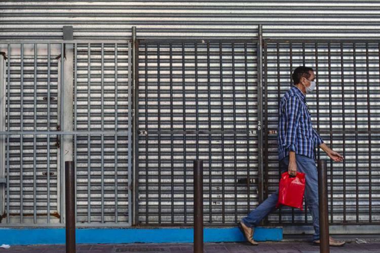 Pandemia foi fator decisivo para 41% dos empresários e empreendedores que optaram por fechar seus empreendimentos. A taxa de mortalidade de empresas no Ceará marca 26% (Foto: Aurelio Alves/O POVO)