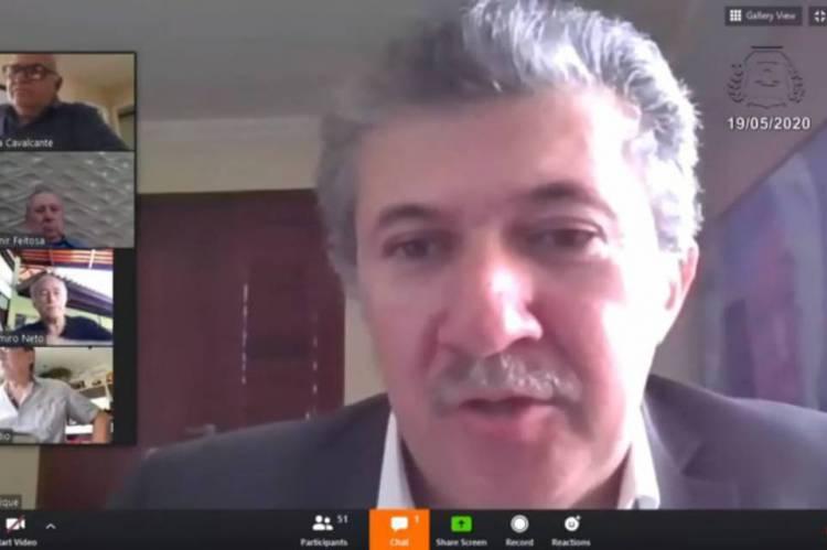 Presidente da Câmara Municipal de Fortaleza, Antônio Henrique lamenta a morte de pastor Neto Nunes durante sessão virtual