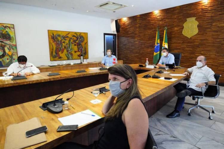 Reunião entre Prefeitura de Fortaleza e Governo do Estado nesta terça-feira, 19, para decidir novos decretos de isolamento social