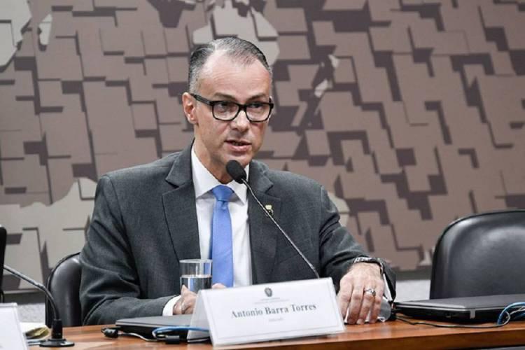 Antonio Barra Torres confirmou ter testado positivo para coronavírus (Foto: Divulgação / Agência Senado)