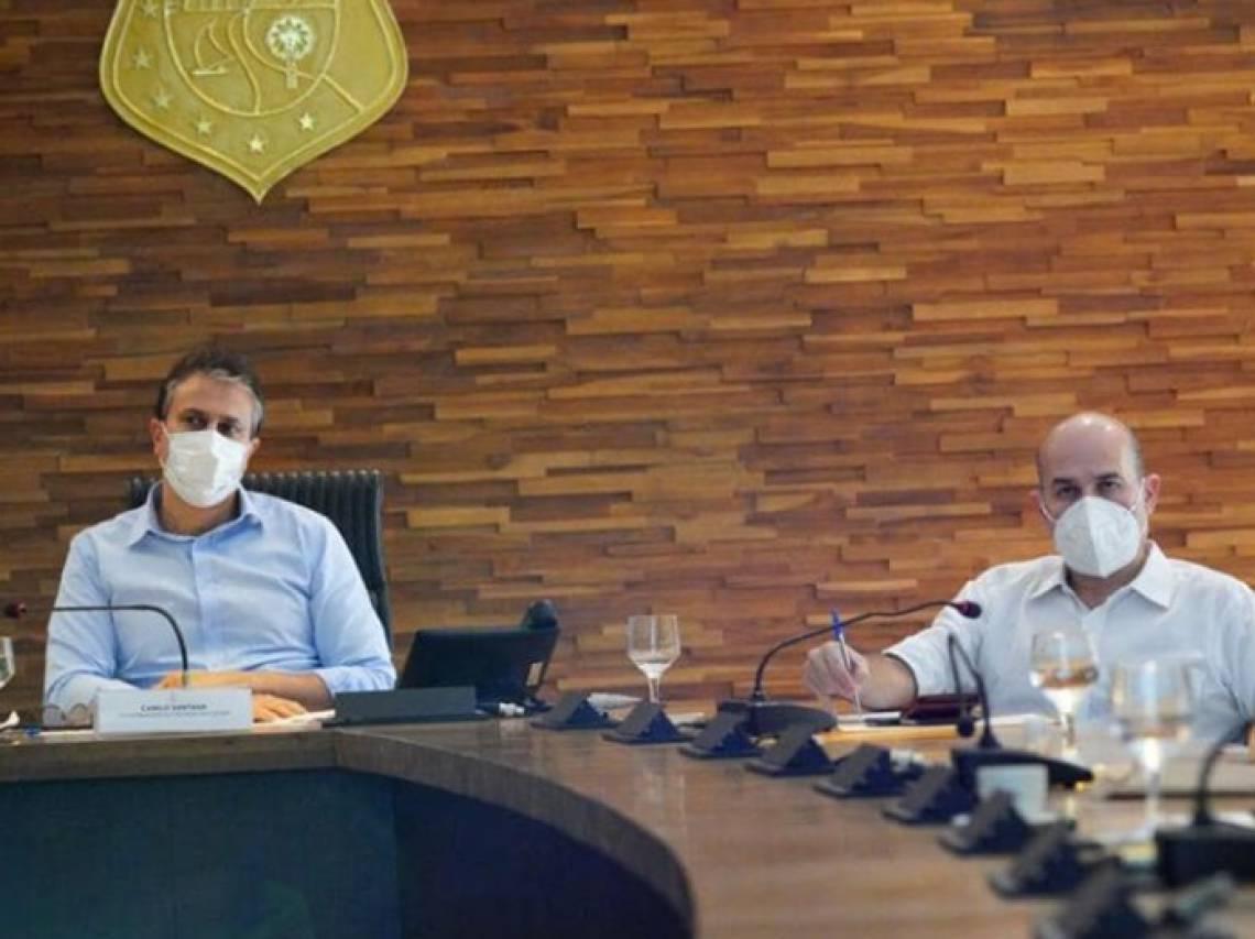 CAMILO esteve reunido durante toda a tarde de ontem com Roberto Cláudio para discutir novas ações