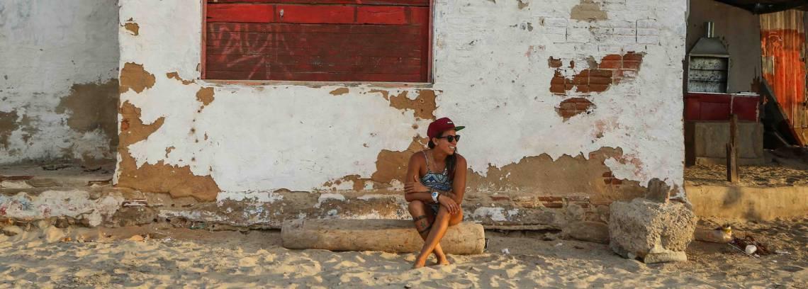 Foto de Silvana Lima que ilustra a reportagem da revista Trip