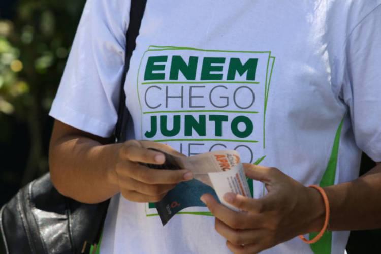 Calendário do Enem ainda segue em discussão (Foto: FABIO LIMA/O POVO)