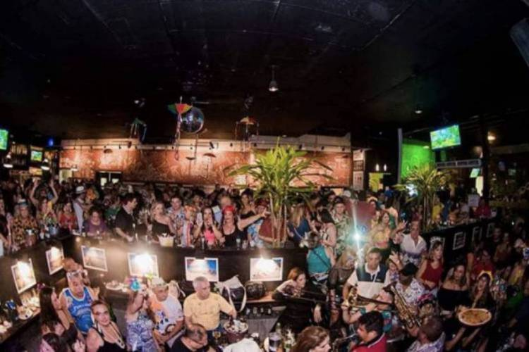 Floresta Bar, em Fortaleza, fechou por causa da crise da Covid-19  (Foto: Divulgação )