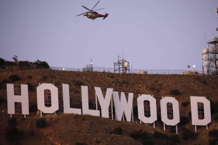 Hollywood é uma das grandes preocupações em Los Angeles, com a reabertura das atividades (Foto: Mario Tama/AFP)