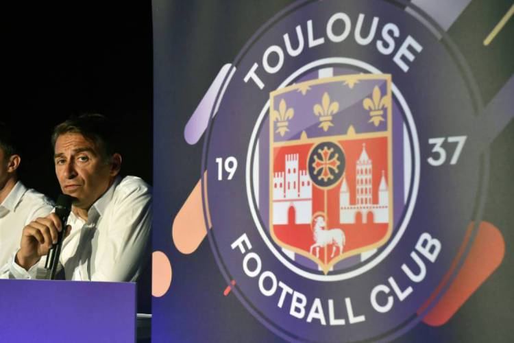 Toulousse caiu para a segunda divisão do Francês após o campeonato ser encerrado  (Foto: AFP)