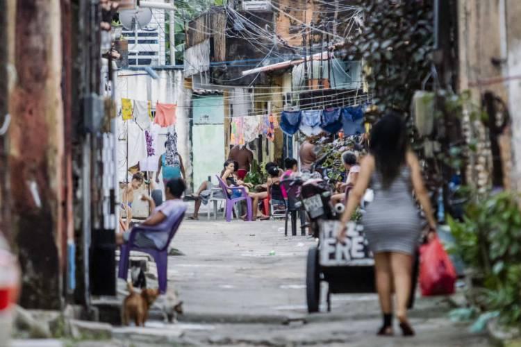 O Pirambu é uma das Zonas Especiais de Interesse Social (ZEIS) de Fortaleza (Foto: Aurelio Alves/O POVO)