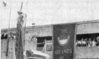 160 anos da PMCE no dia 24 de maio de 1995, em Fortaleza. Ne época a corporação tinha 10 mil homens.  (Foto:  O POVO/ 25 de maio de 1995)
