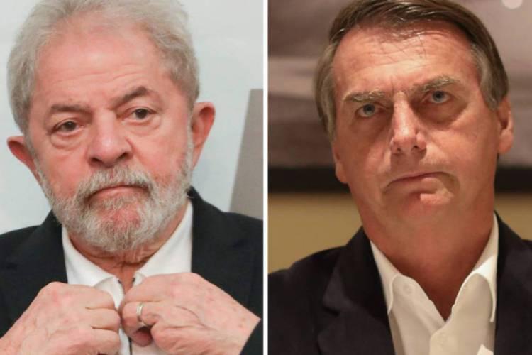 Ex-Presidente Luiz Incio Lula e Bolsonaro (Foto: Sérgio Lima/PODER 360) (Foto: Foto: Sérgio Lima)