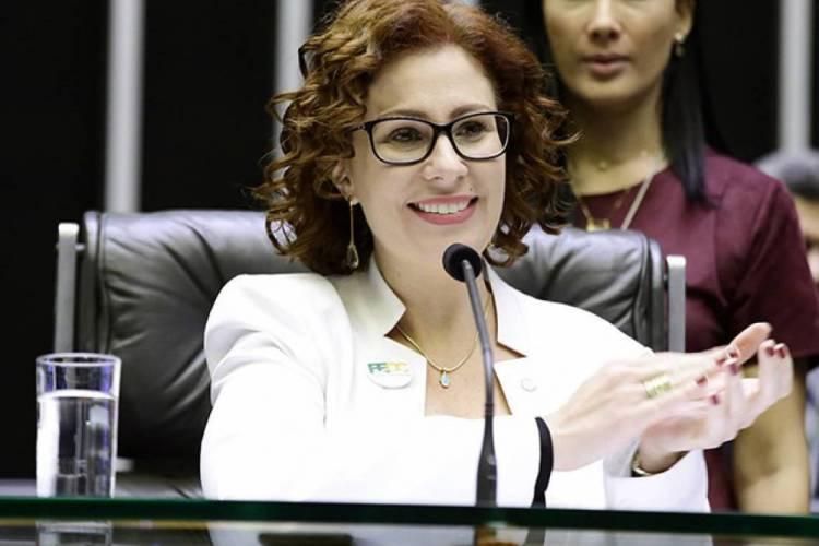 A deputada bolsonarista fez tratamento com hidroxicloroquina (Foto: Câmara dos Deputados/divulgação)