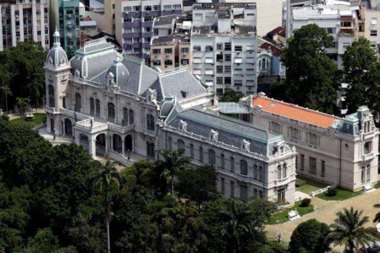 Palácio das Laranjeiras, no Rio de Janeiro (Foto: Carlos Magno)