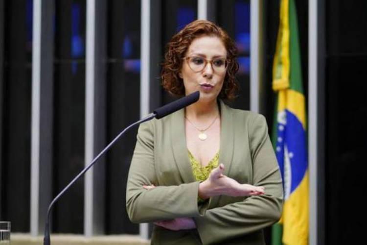 A deputada federal Carla Zambelli (Foto: Pablo Valadares/Câmara dos Deputados)