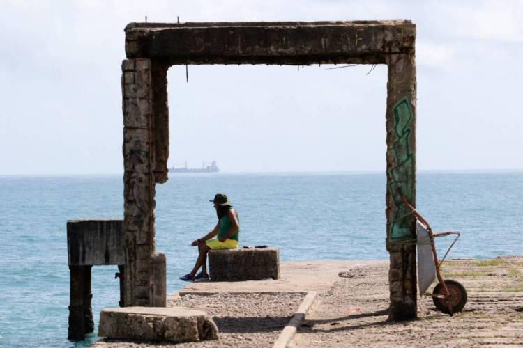 Poço da Draga é um dos cartões postais de Fortaleza (Foto: Fabio Lima)