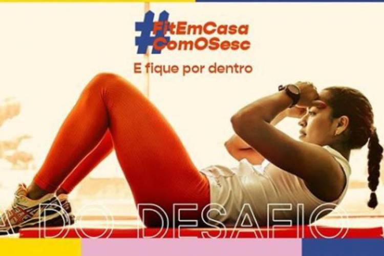 Sesc promove Dia do Desafio com uso de hashtags e lives com dirigentes dos clubes  (Foto: Reprodução/Instagram )