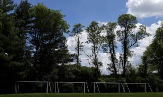 Campo de futebol para treinos em Maryland, nos Estados Unidos