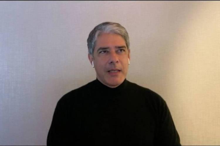 Bonner participou do programa Conversa com Bial (Foto: Reprodução)