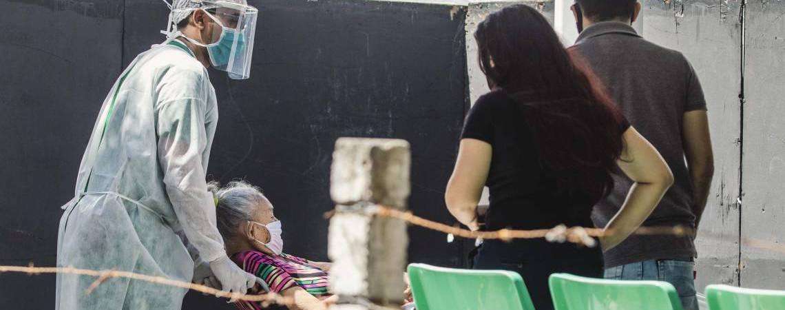 Ceará segue com esforços para conter a pandemia de Covid-19 (Foto: Aurelio Alves/O POVO)