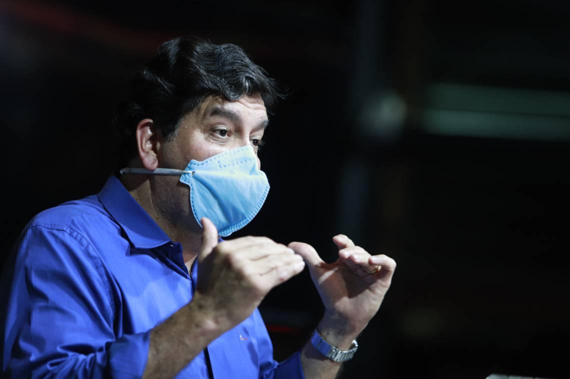 Dr. Cabeto é o secretário de Saúde do Estado (Foto Fco Fontenele/O POVO)