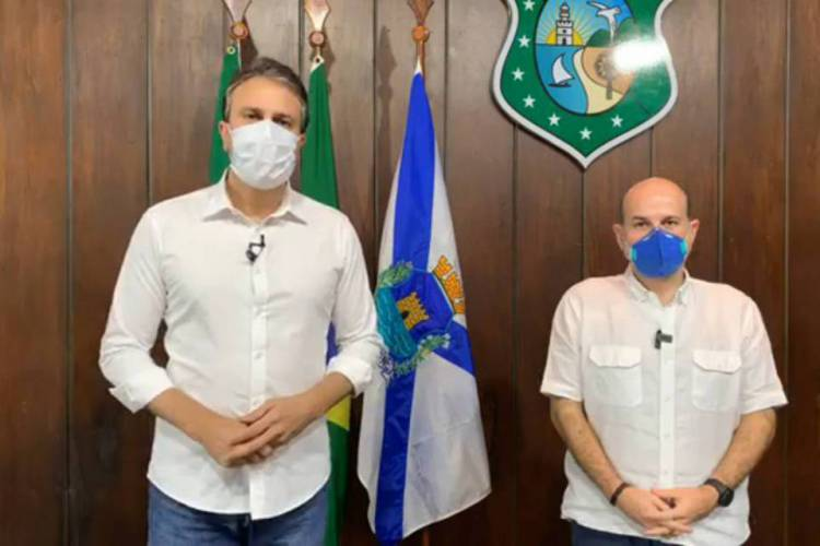 Anúncio foi feito pelo governador Camilo Santana (PT) e pelo prefeito de Fortaleza, Roberto Cláudio (PDT) (Foto: Reprodução)