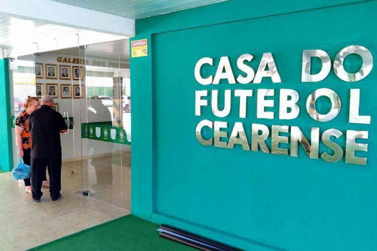 Sede da Federação Cearense de Futebol  (Foto: Brenno Rebouças/O POVO)