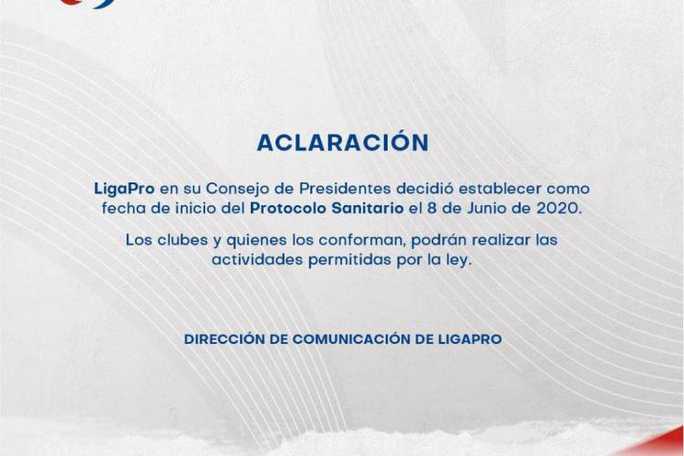 Entidade publicou declaração em suas redes sociais e site oficial  (Foto: Reprodução/LigaPro)