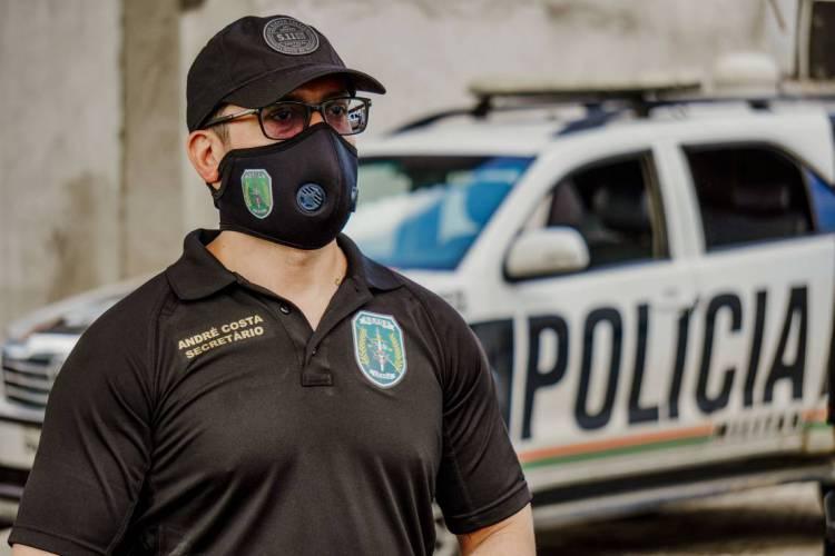 FORTALEZA-CE, BRASIL, 01-06-2020: André Costa, secretário de Segurança do Estado do Ceará.   (Foto: JÚLIO CAESAR)