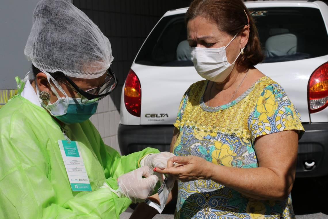 TESTAGEM EM massa é uma das estratégias de controle da pandemia