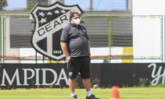 Guto Ferreira participou do treino em Porangabuçu pela primeira vez