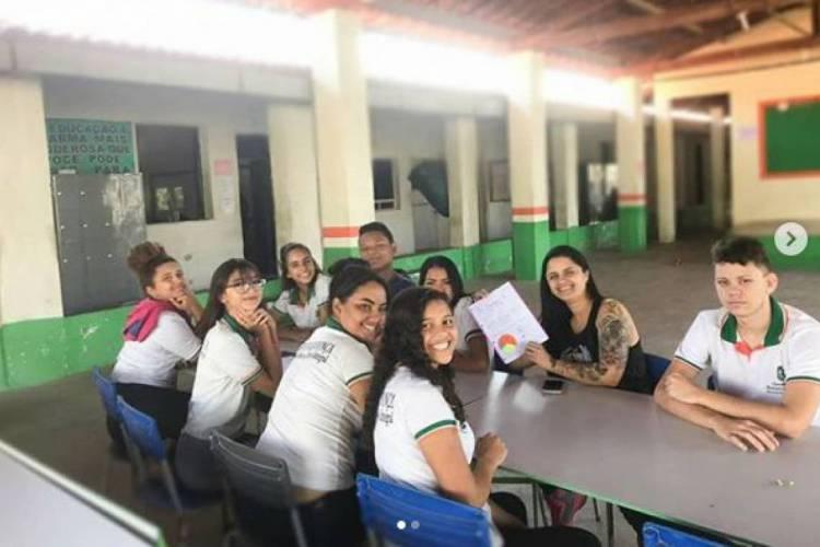 A instituição atende estudantes indígenas, da tribo Pitaguari, e não-indígenas das comunidades do Horto Florestal e Vila das Flores (Foto: divulgação)