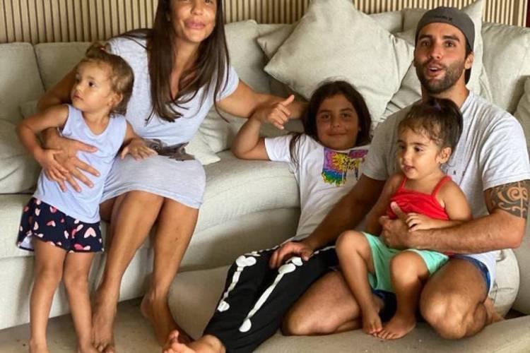 Ivete Sangalo, Daniel Cady e o restante da família (Foto: Reprodução / Instagram)