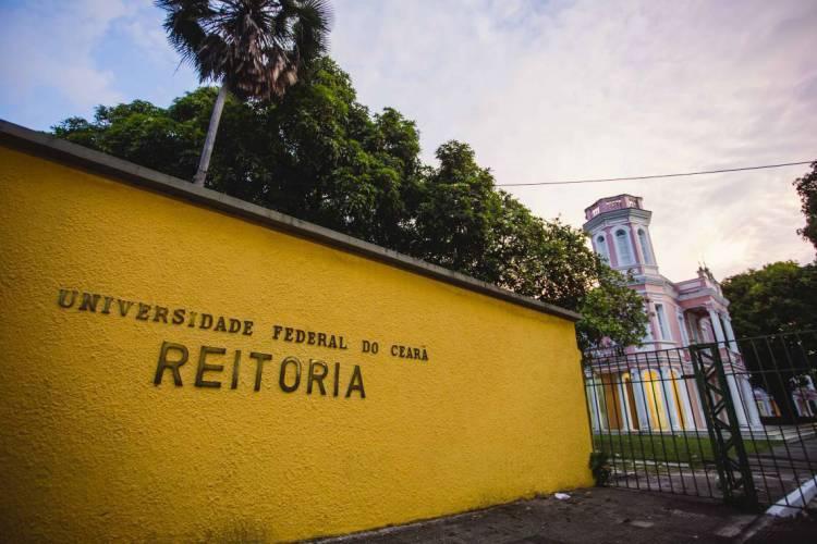 Fachada Reitoria   Universidade Federal do Ceará - UFC  (Foto: Aurelio Alves/O POVO)
