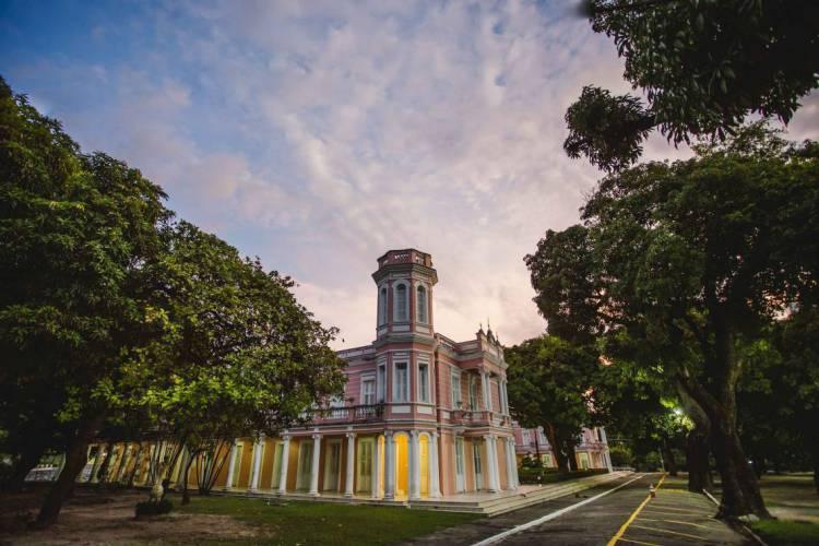 Reitoria da Universidade Federal do Ceará (UFC), na Avenida da Universidade, bairro Benfica (Foto: Aurelio Alves/O POVO)
