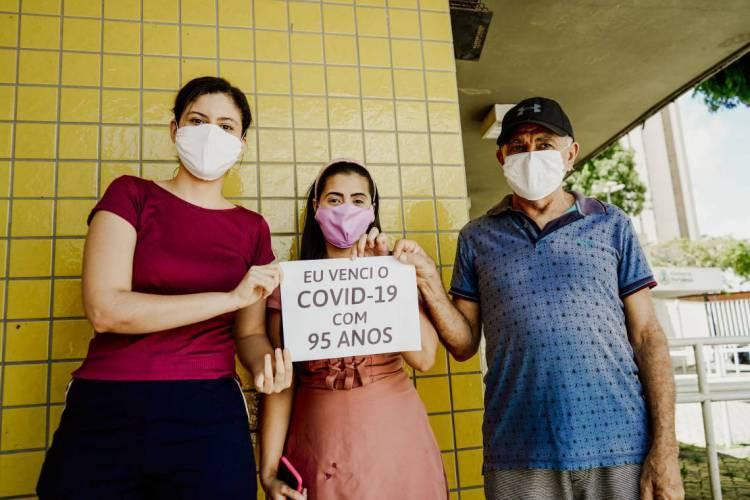 Ceará ultrapassou os 201 mil recuperados pela Covid-19 (Foto: JÚLIO CAESAR)