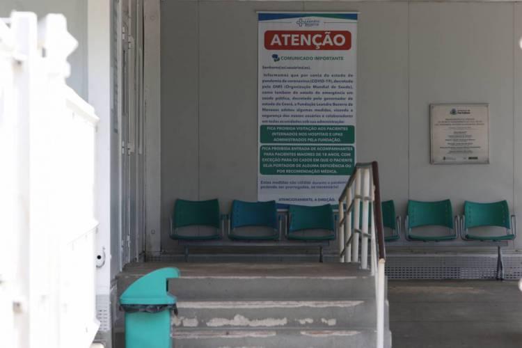 FORTALEZA, CE, BRASIL, 06.06.2020: UPA do bairro Vila Velha, em Fortaleza, em junho (Foto: FABIO LIMA)