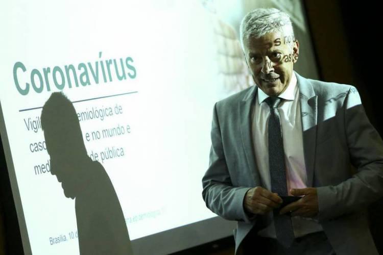 Ex-secretário-executivo do Ministério da Saúde, Gabbardo era o número dois na gestão de Mandetta (Foto: Marcelo Camargo/Agência Brasil)